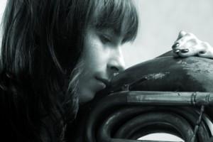 """Kobieta i suzafon - 001"" - fot. 2011"
