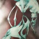 """""""Wierszem jestem"""" - tech. własna 2000r 70x100 cm Sprzedane na aukcji na rzecz chorego Zenona Porzucka"""